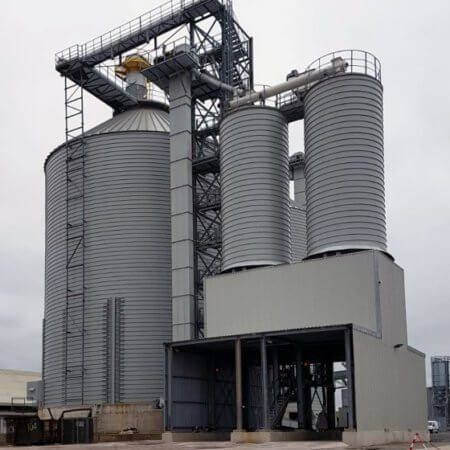 soda ash storage plant