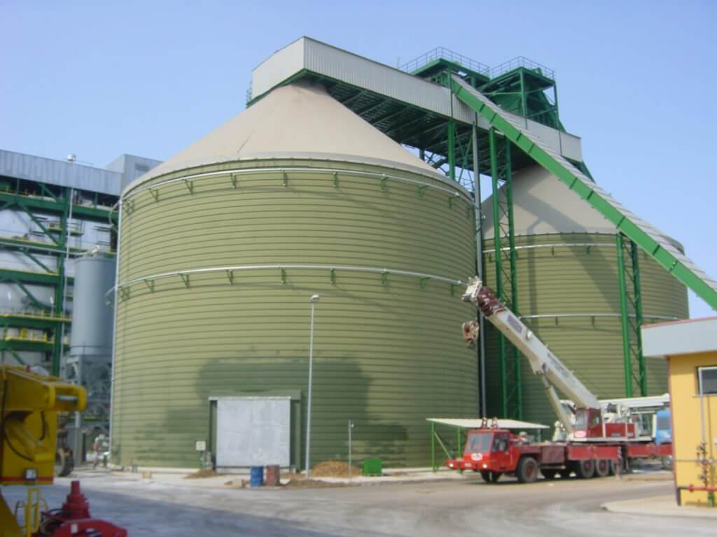 biomasses spiral lipp silos