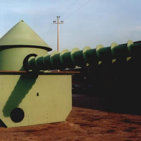 biomasses screw reclaimer