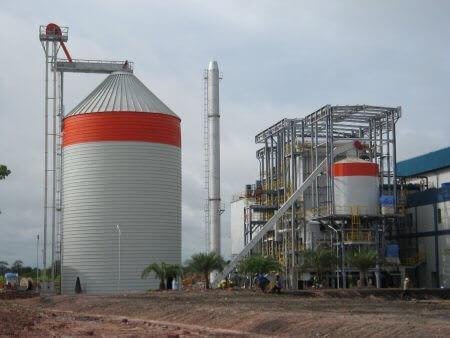 biomasses silo Thailand