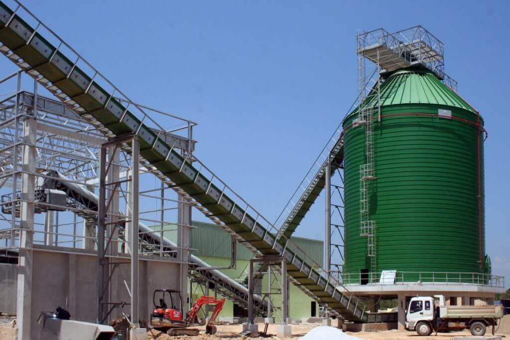 biomasses spiral silos – thailand