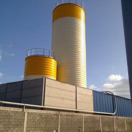 spiral silos spain