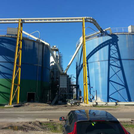 flyash screw silos
