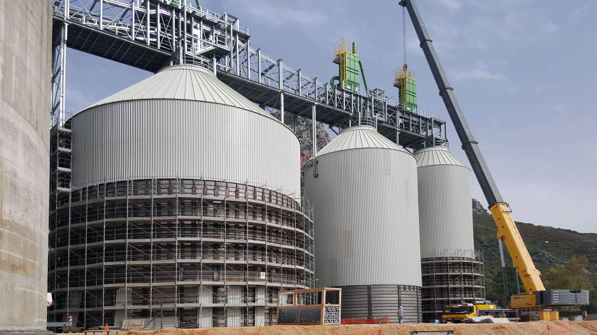 spiral silos aggregates