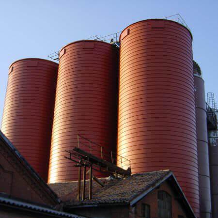silos spiralati