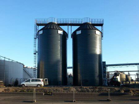 biomasses silos