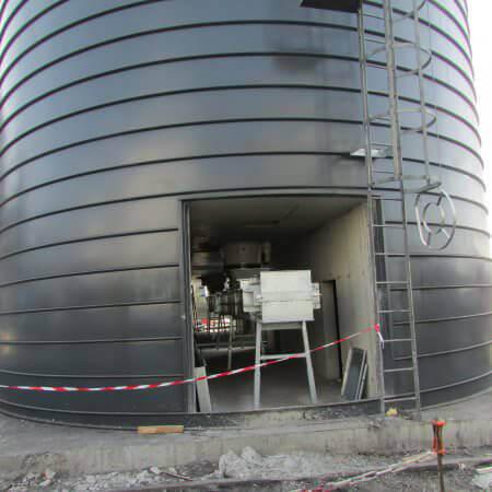 sunflower pellet power plant