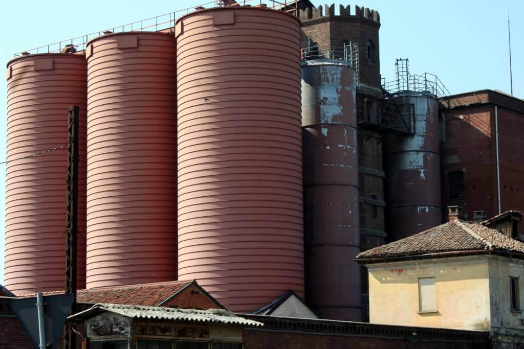 silo spiralati  per grano