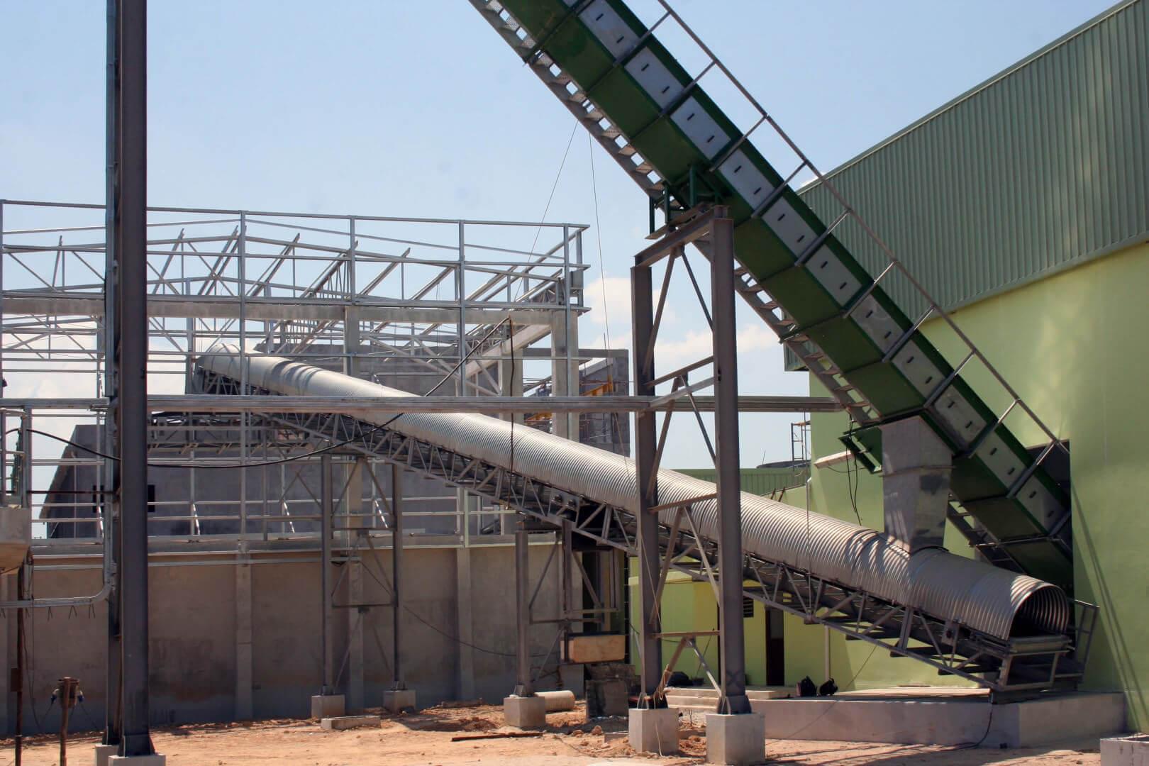 biomasses handling