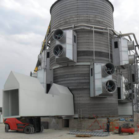 wood chip cogeneration plant France