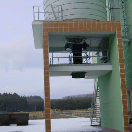 silo for sludge