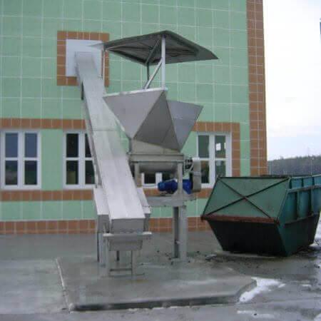 conveyors for dry sludge
