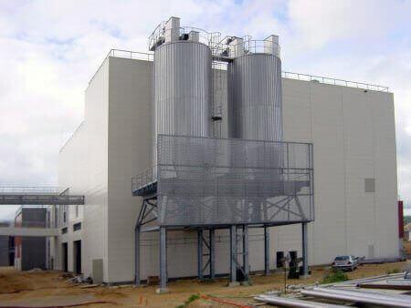 silo fanghi secchi
