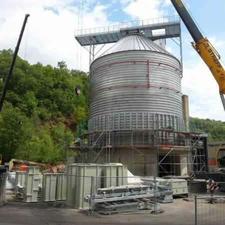 spiral silo Luxemburg