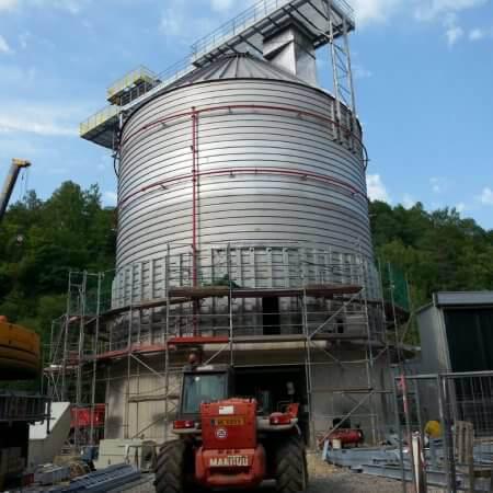 fluff storage plant Luxemburg