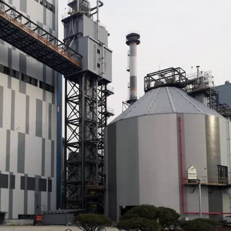 woodchip power plant South Korea