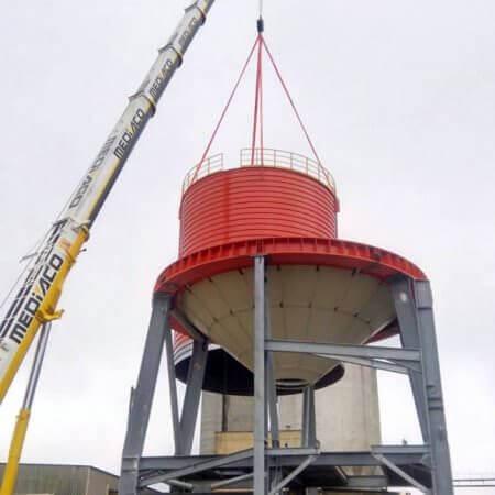 clincker silo France