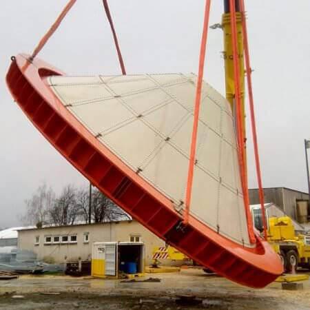 clinker silo hopper