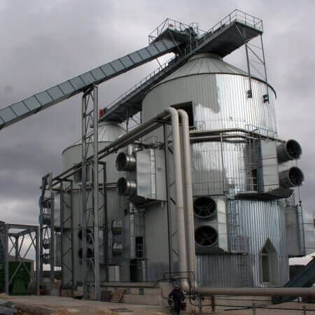 woodchip power plant France