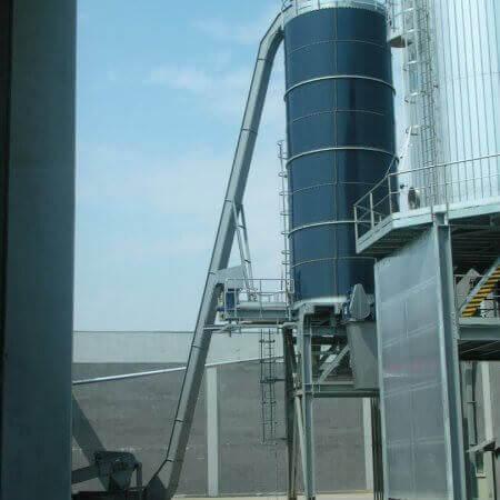 silo fanghi umidi